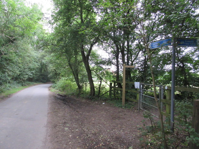 Cycle Route 21 meets Scotshall Lane