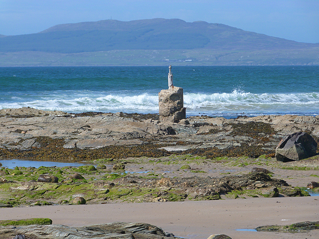 Pillar at Knockangle Point