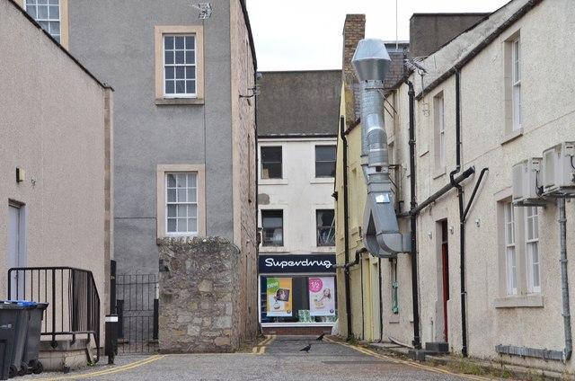 Alleyway onto Roxburgh Street, Kelso