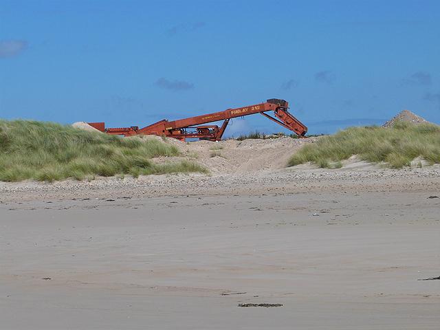 Sand quarry by the Big Strand