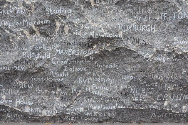 Names from near Kelso