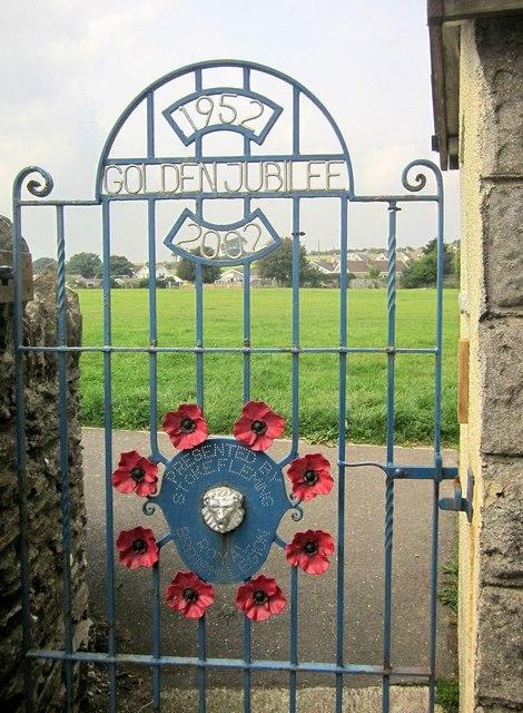 Jubilee gate, Stoke Fleming