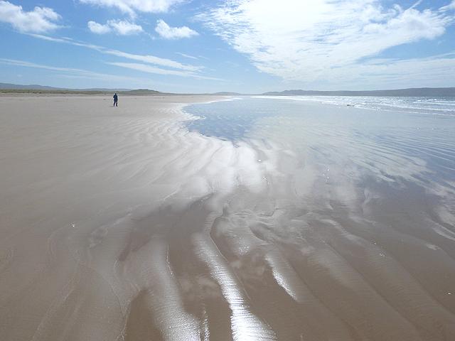Figure on the beach