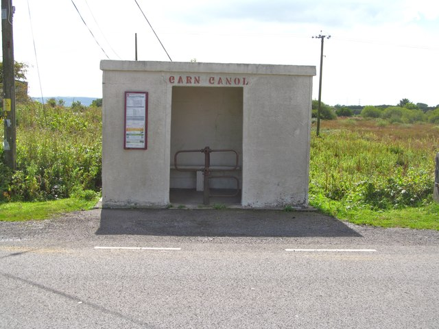 Carn Canol bus shelter