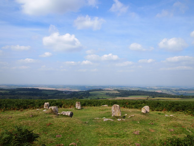 Cairn Circle, Mardon Down
