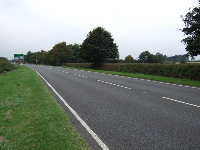 A158 towards Lincoln