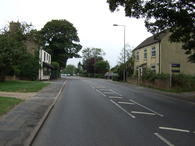 Main Road (A158) Langworth