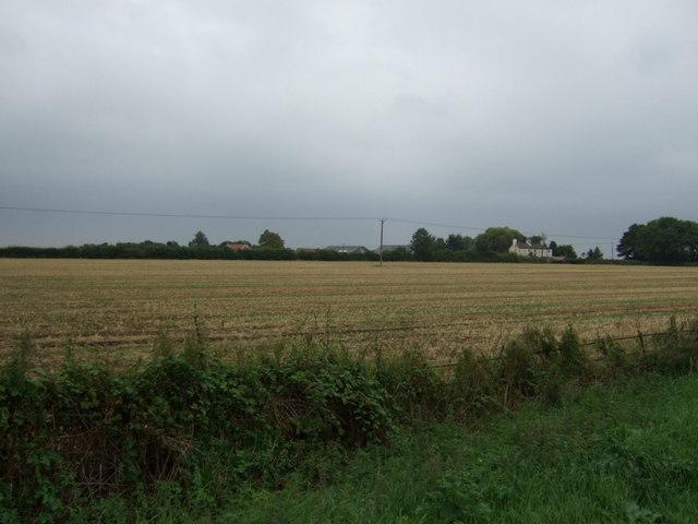 Farmland off Station Road, Langworth
