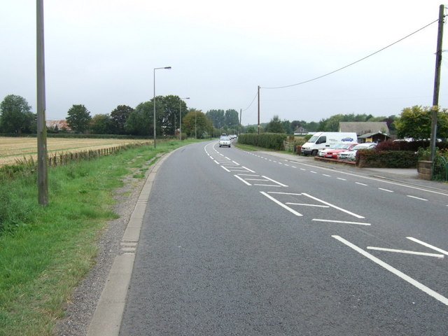 Station Road, Langworth (A158)