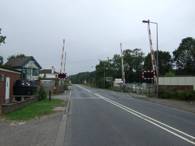 Langworth Level Crossing