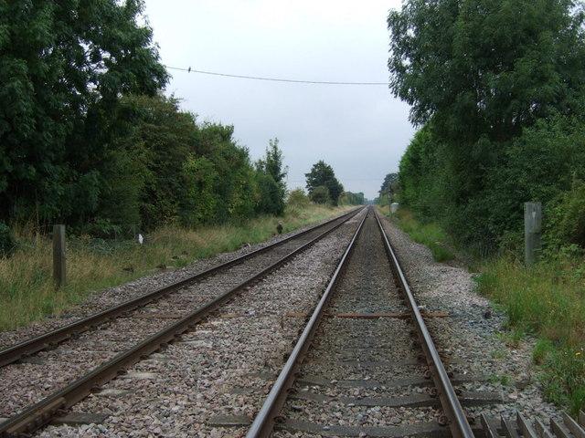 Railway towards Lincoln