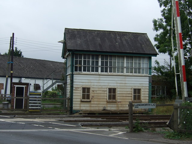 Signal Box, Langworth Level Crossing