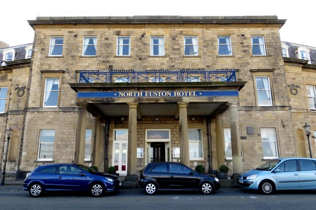The North Euston Hotel in Fleetwood