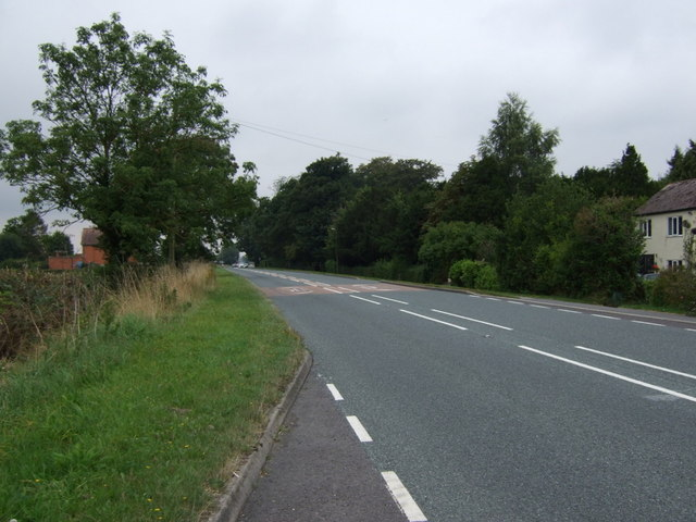 A158 towards Lincoln