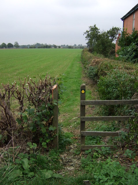 Footpath off Wragby Road (A158)
