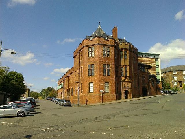 The corner of Gilbert Street and Yorkhill Street