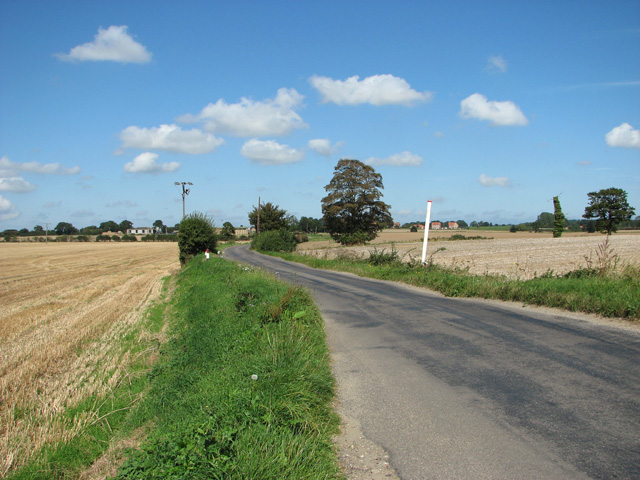 Unnamed road to Skeyton Corner