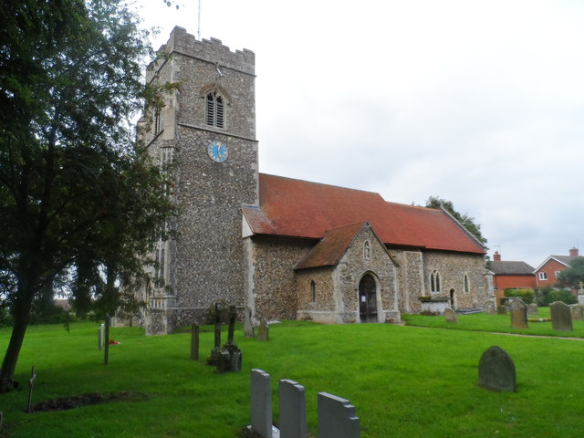 St Peter's church, Henley, Suffolk