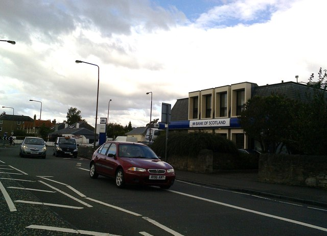 St John's Road, A8 near the junction with the B701, Edinburgh