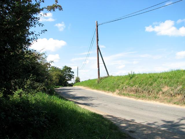 Bend in Tuttington Road