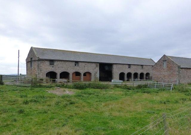 Farm buildings at Goswick