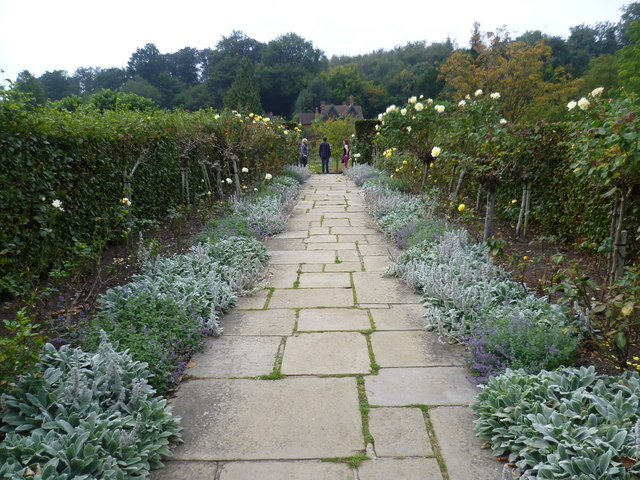 In the walled garden at Chartwell