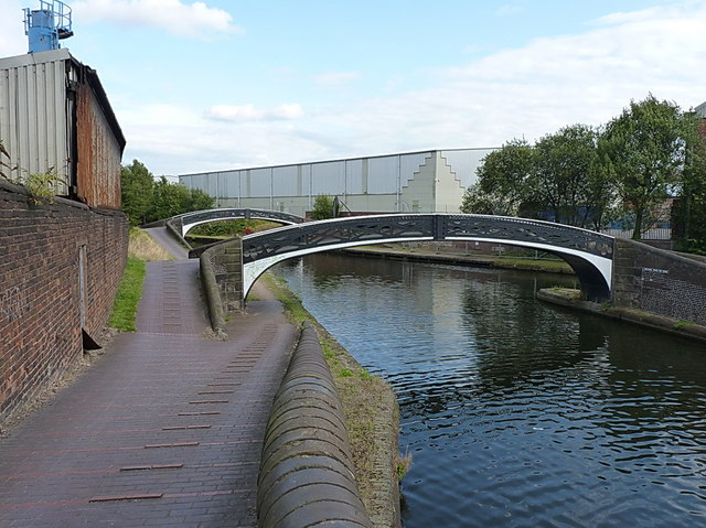 Roving bridges at Smethwick Junction - the Smethwick Towing Path Bridges