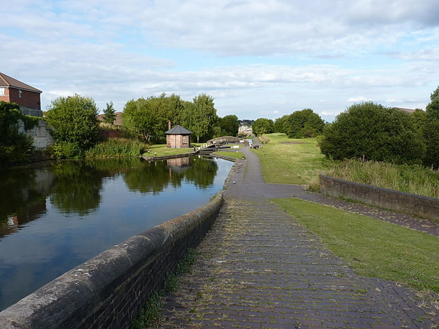 Smethwick Locks and toll house
