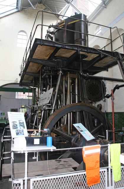 Twyford Waterworks - steam engine