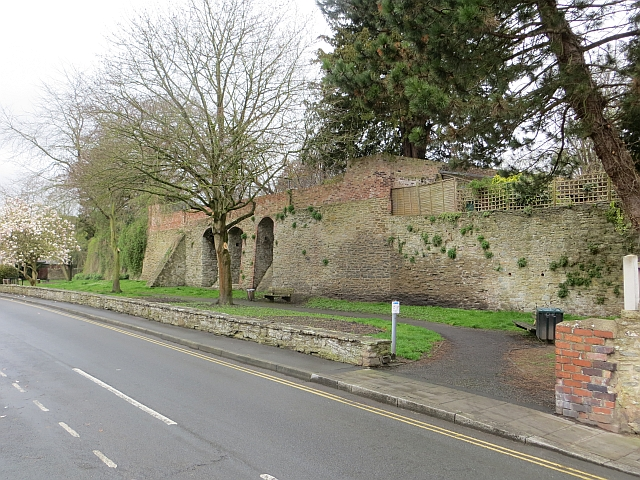 Town Wall, St John's Road