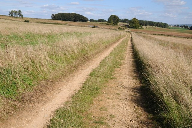 Track on Bredon Hill