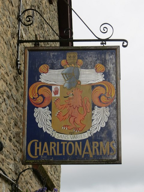 Charlton Arms sign