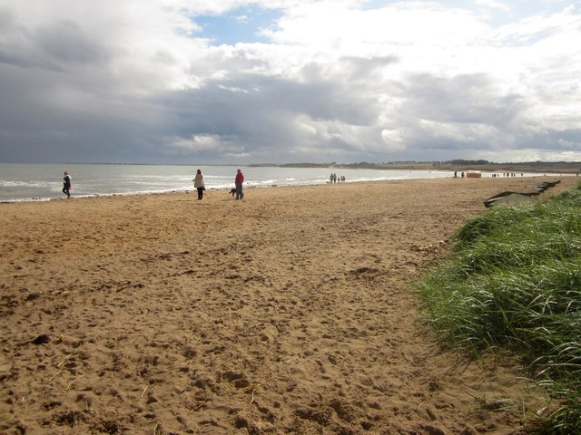 Beach at Alnmouth Bay