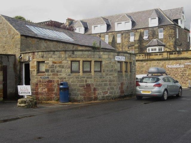 Public toilets in Alnmouth