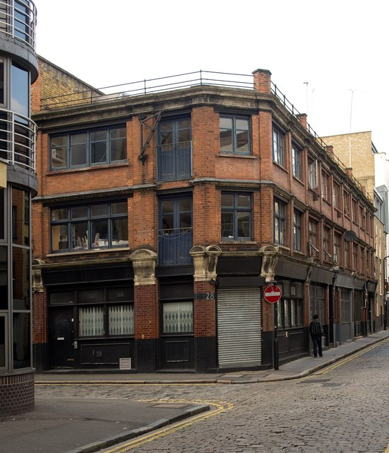 Former workshop/warehouse building, Coronet Street