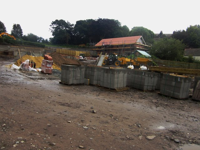 Building site, Alnmouth