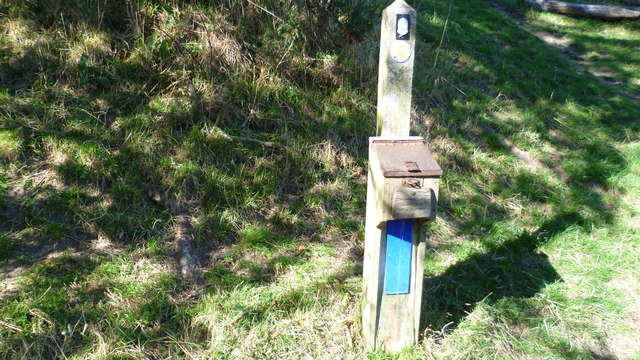 Severn Trent drinking water tap on Offa's Dyke Path near Newcastle-on-Clun