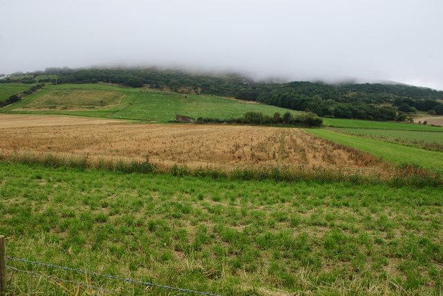 Farmland above High Scar
