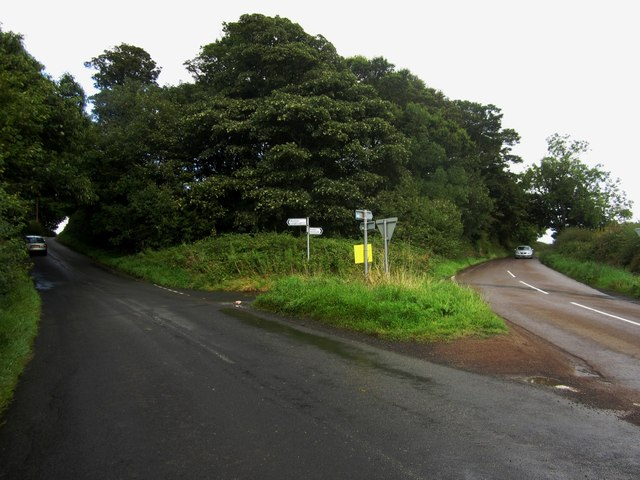 Road junction east of Lesbury