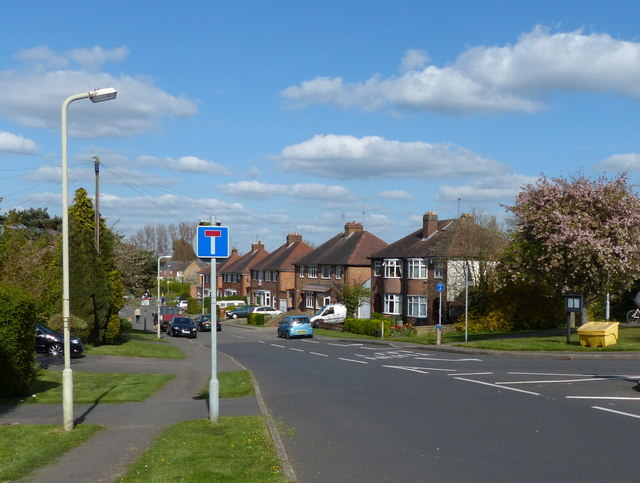 Anstey Lane in Groby