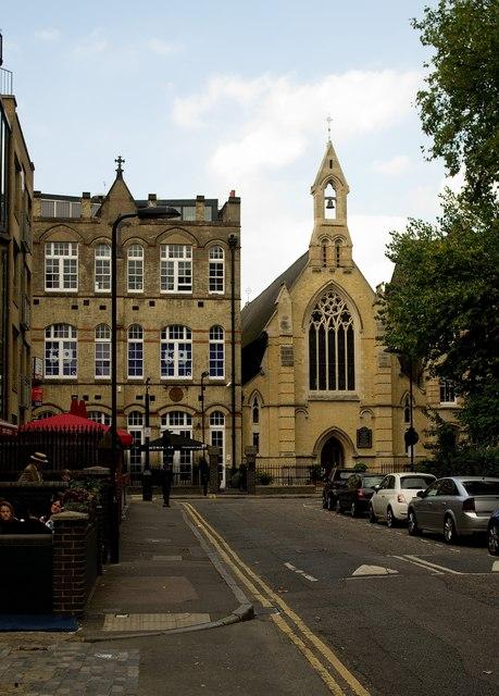 Roman Catholic Church of St Monica, Hoxton