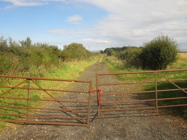 Farm track west of Boulmer
