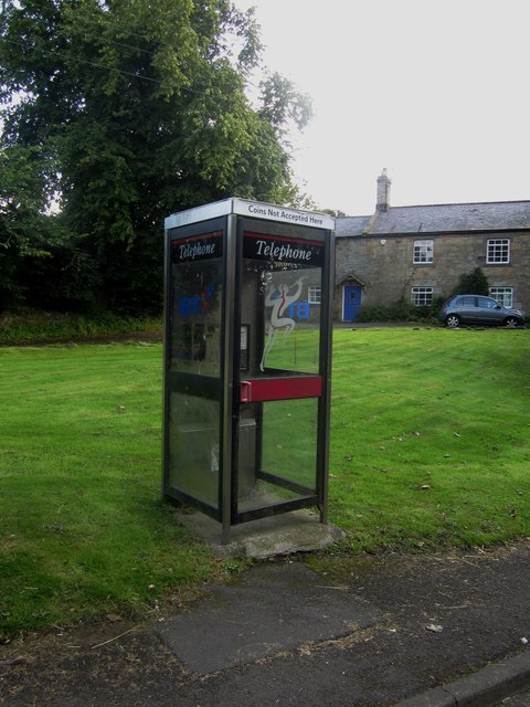 Telephone box, Longhoughton