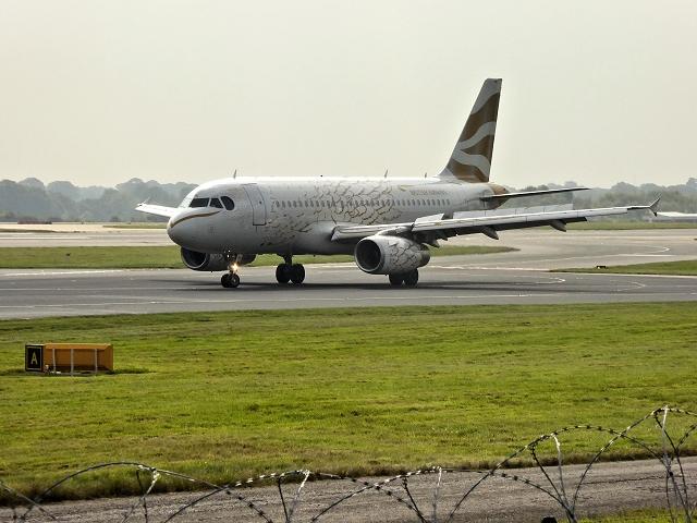 British Airways Golden Dove at Manchester Airport