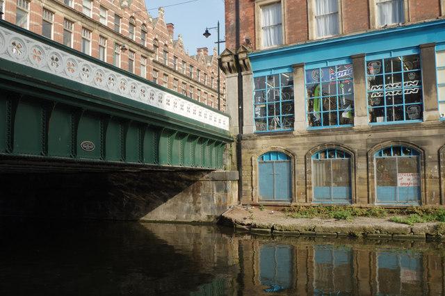 Carrington Street Bridge, Nottingham Canal