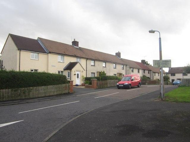 Terraced housing, Burnside, Longhoughton