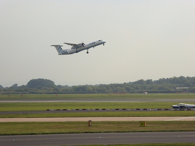 Take Off at Manchester