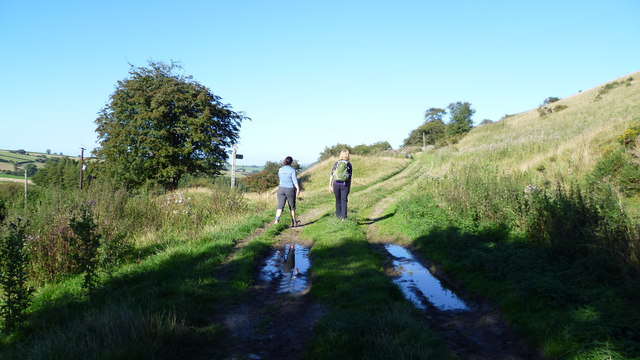 Walking Offa's Dyke Path in late August