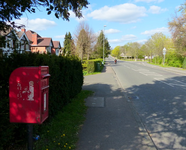 Postbox along Gynsill Lane