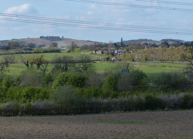 Fields next to Gynsill Lane